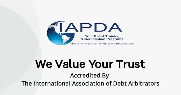 The International Association of Debt Arbitrators Logo